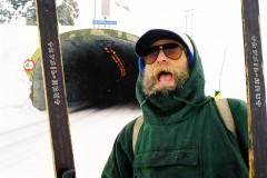 Snohulemannen tunnel