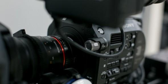 Sony PXW-FS7 illustrasjonsbilde